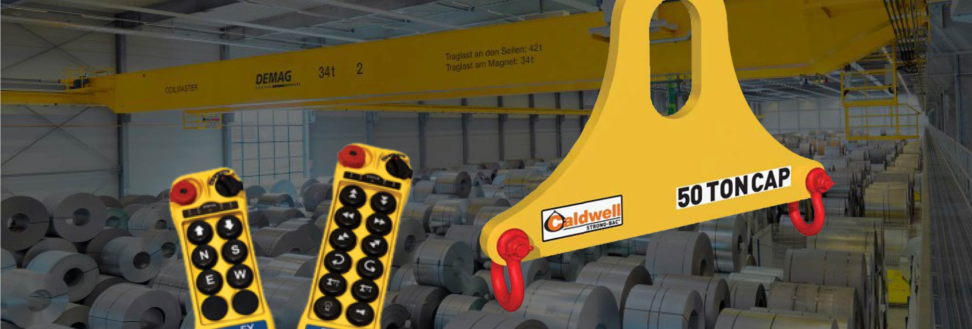 Caldwell lifting products and controls